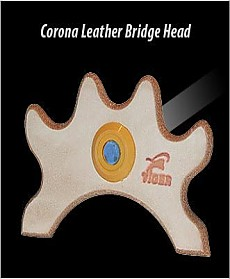 Corona Leather Bridge Head
